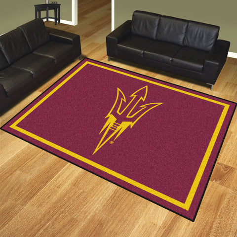NCAA Arizona State Sun Devils 8 X 10 Ft. Area Rug - Bed, Bath, And My Team