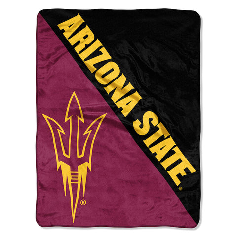 NCAA Arizona State Sun Devils Micro Raschel Throw - Bed, Bath, And My Team