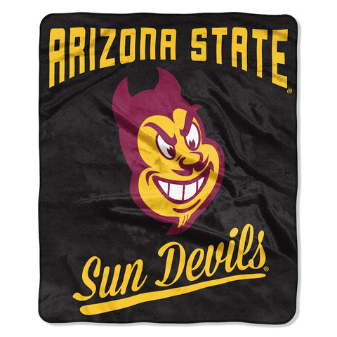 NCAA Arizona State Sun Devils 50 x 60 Alumni Raschel Throw Blanket - Bed, Bath, And My Team