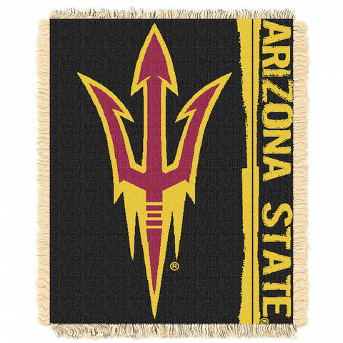 NCAA Arizona State Sun Devils Woven Decorative Tapestry - Bed, Bath, And My Team