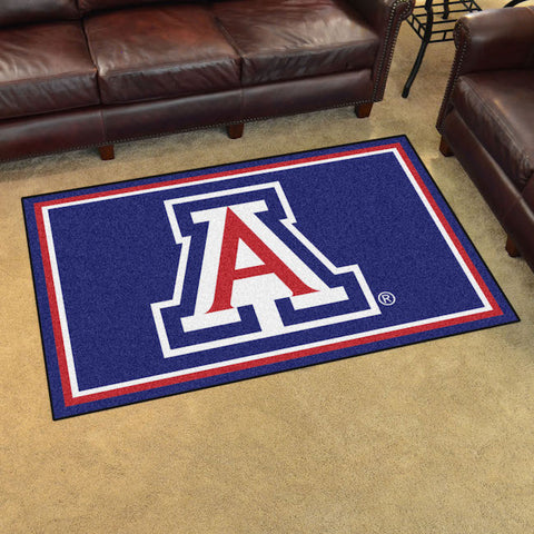 NCAA Arizona Wildcats 4 X 6 Ft. Area Rug - Bed, Bath, And My Team