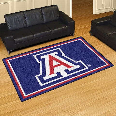 NCAA Arizona Wildcats 5 X 8 Ft. Area Rug - Bed, Bath, And My Team