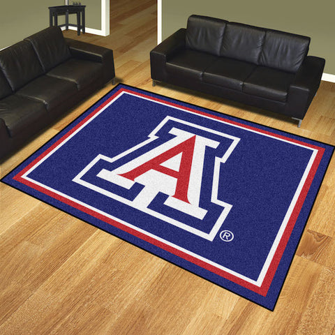 NCAA Arizona Wildcats 8 X 10 Ft. Area Rug - Bed, Bath, And My Team