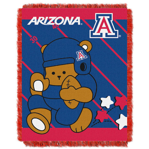 NCAA Arizona Wildcats Baby Blanket - Bed, Bath, And My Team