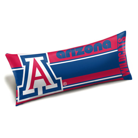 NCAA Arizona Wildcats King Size Body Pillow - Bed, Bath, And My Team