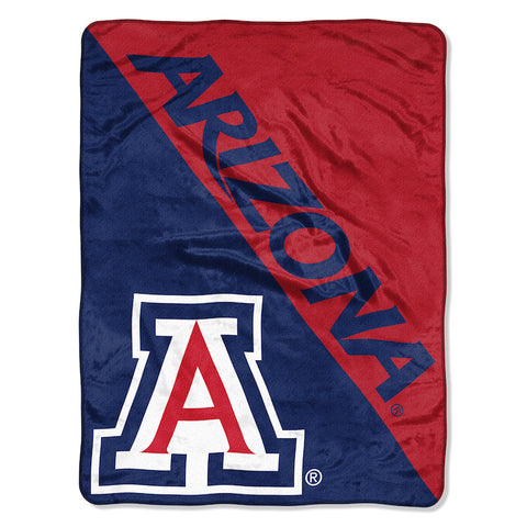 NCAA Arizona Wildcats Micro Raschel Throw - Bed, Bath, And My Team