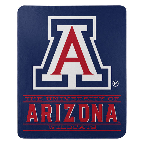NCAA Arizona Wildcats Fleece Throw ~ 50 x 60 - Bed, Bath, And My Team