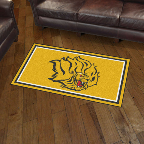 NCAA Arkansas Pine Bluff Golden Lions 3 X 5 Ft. Plush Area Rug - Bed, Bath, And My Team
