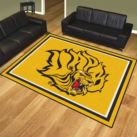 NCAA Arkansas Pine Bluff Golden Lions 8 X 10 Ft. Area Rug - Bed, Bath, And My Team