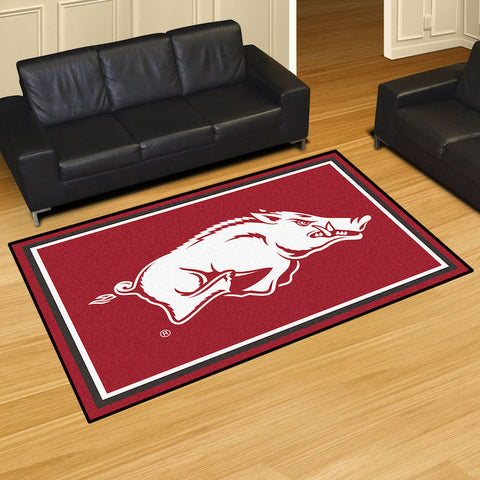 NCAA Arkansas Razorbacks 5 X 8 Ft. Area Rug - Bed, Bath, And My Team