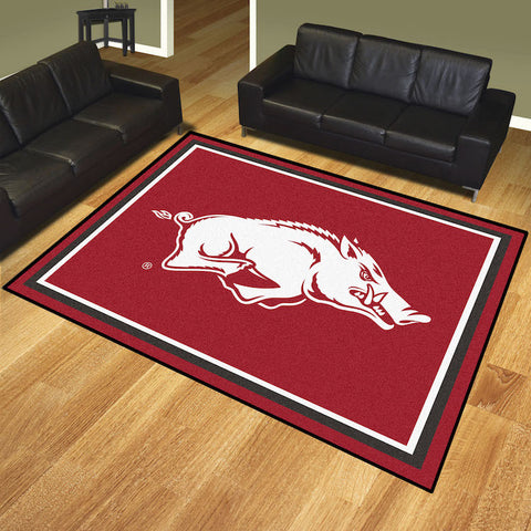 NCAA Arkansas Razorbacks 8 X 10 Ft. Area Rug - Bed, Bath, And My Team