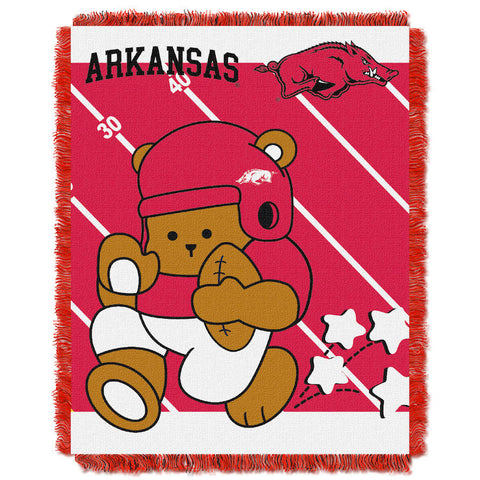 NCAA Arkansas Razorbacks Baby Blanket - Bed, Bath, And My Team