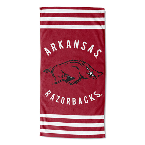 NCAA Arkansas Razorbacks Beach Towel - Bed, Bath, And My Team