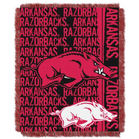 NCAA Arkansas Razorbacks Woven Decorative Tapestry - Bed, Bath, And My Team
