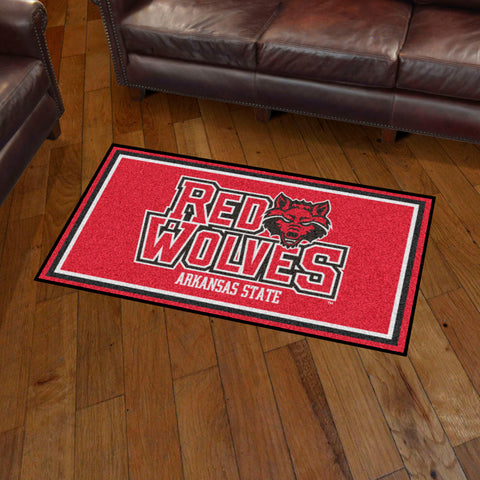 NCAA Arkansas State Red Wolves 3 X 5 Ft. Plush Area Rug - Bed, Bath, And My Team