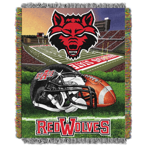 NCAA Arkansas State Red Wolves HOME FIELD ADVANTAGE Tapestry - Bed, Bath, And My Team