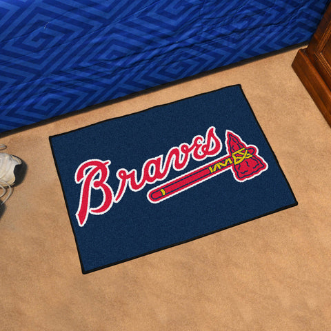 MLB Atlanta Braves STARTER Rug - Bed, Bath, And My Team