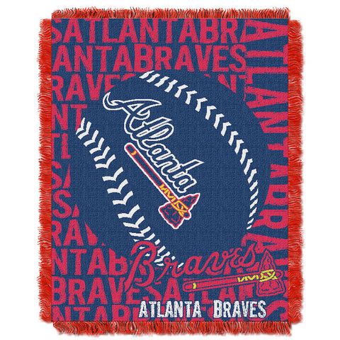 MLB Atlanta Braves Woven Decorative Tapestry - Bed, Bath, And My Team