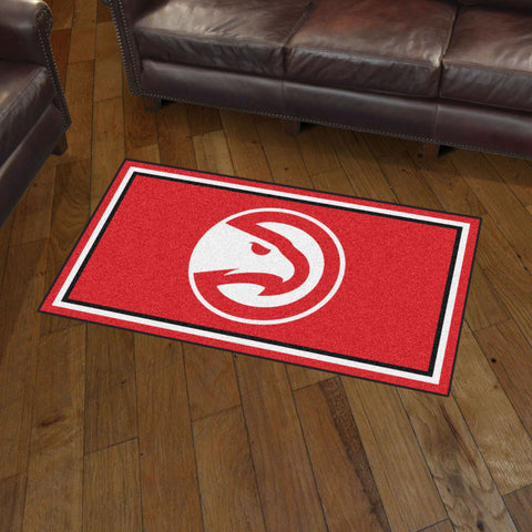 NBA Atlanta Hawks 3 X 5 Ft. Plush Area Rug - Bed, Bath, And My Team