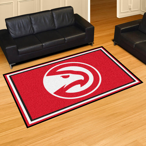 NBA Atlanta Hawks 5 X 8 Ft. Area Rug - Bed, Bath, And My Team