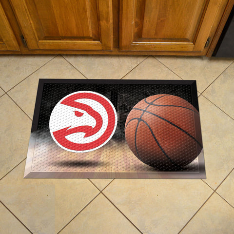 NBA Atlanta Hawks Scraper Doormat - Bed, Bath, And My Team