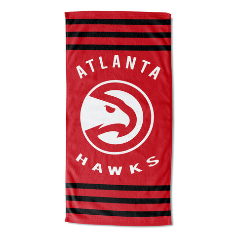 NBA Atlanta Hawks Beach Towel - Bed, Bath, And My Team