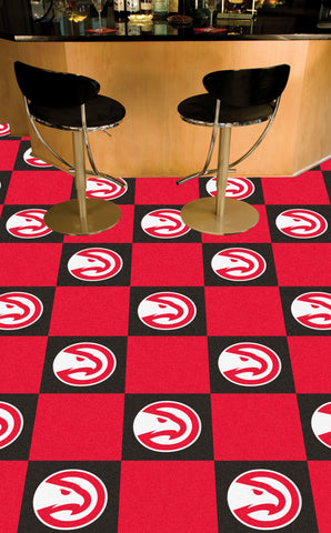 NBA Atlanta Hawks Carpet Tiles - Bed, Bath, And My Team