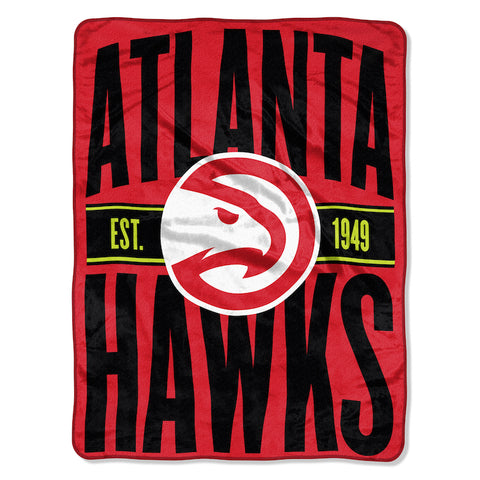 NBA Atlanta Hawks Micro Raschel Throw - Bed, Bath, And My Team