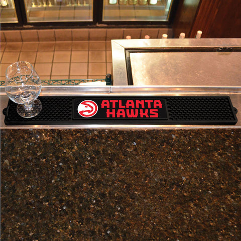 NBA Atlanta Hawks Bar and Drink Mat - Bed, Bath, And My Team