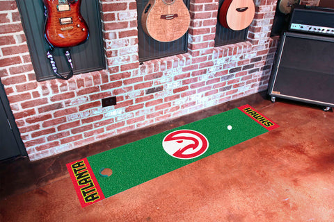 NBA Atlanta Hawks Putting Green Mat - Bed, Bath, And My Team