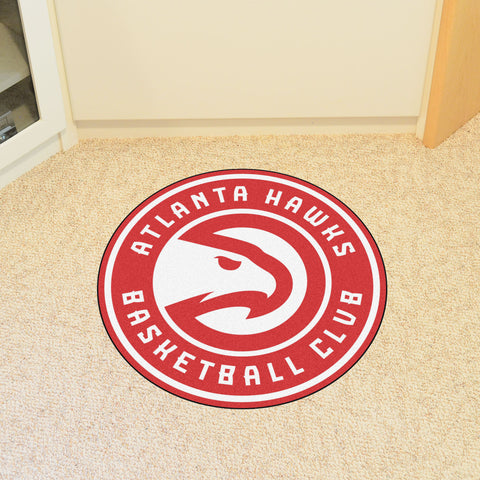 NBA Atlanta Hawks Roundel Mat - Bed, Bath, And My Team