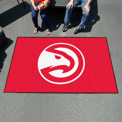 NBA Atlanta Hawks UTILI-MAT Area Rug - Bed, Bath, And My Team