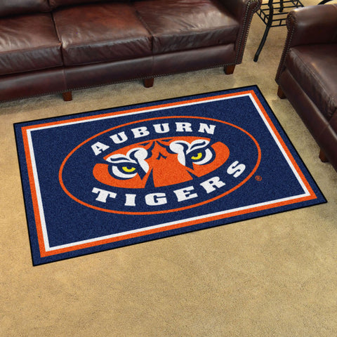 NCAA Auburn Tigers 4 X 6 Ft. Area Rug - Bed, Bath, And My Team