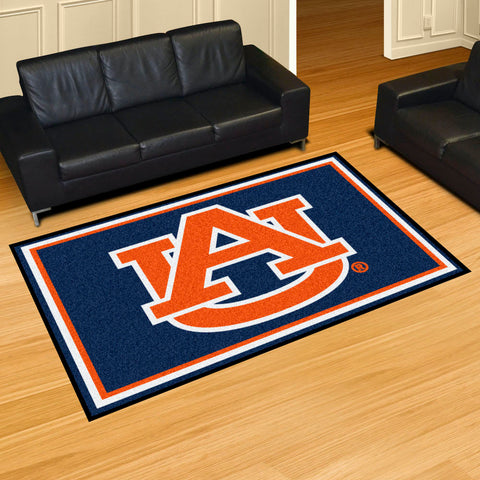 NCAA Auburn Tigers 5 X 8 Ft. Area Rug - Bed, Bath, And My Team