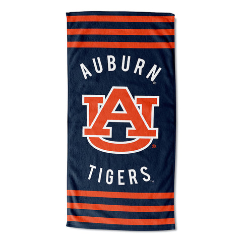 NCAA Auburn Tigers Beach Towel - Bed, Bath, And My Team