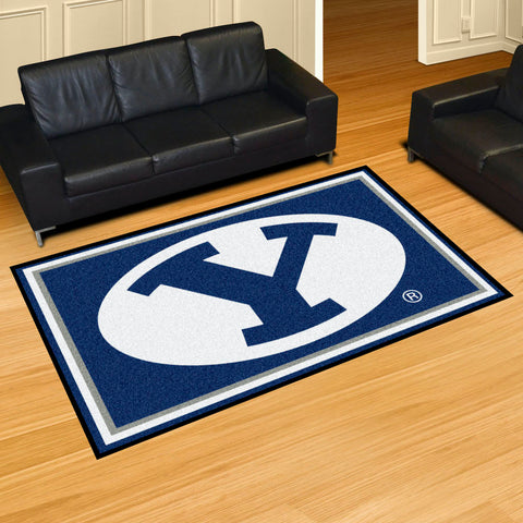 NCAA BYU Cougars 5 X 8 Ft. Area Rug - Bed, Bath, And My Team