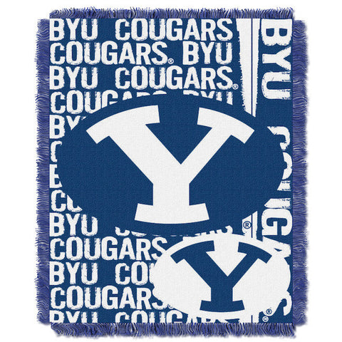 NCAA BYU Cougars Woven Decorative Tapestry - Bed, Bath, And My Team