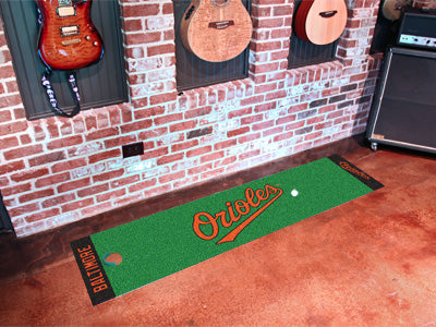 MLB Baltimore Orioles Putting Green Mat - Bed, Bath, And My Team