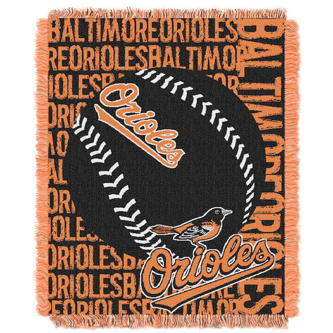 MLB Baltimore Orioles Woven Decorative Tapestry - Bed, Bath, And My Team