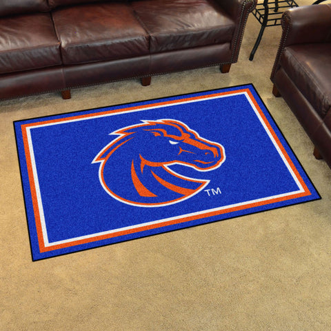 NCAA Boise State Broncos 4 X 6 Ft. Area Rug - Bed, Bath, And My Team