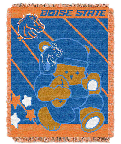 NCAA Boise State Broncos Baby Blanket - Bed, Bath, And My Team