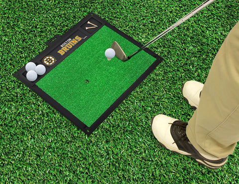 Boston Bruins Golf Ball Hitting Mat