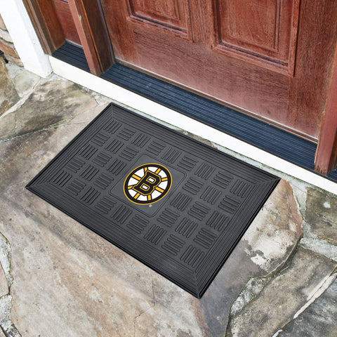 Boston Bruins Medallion Doormat