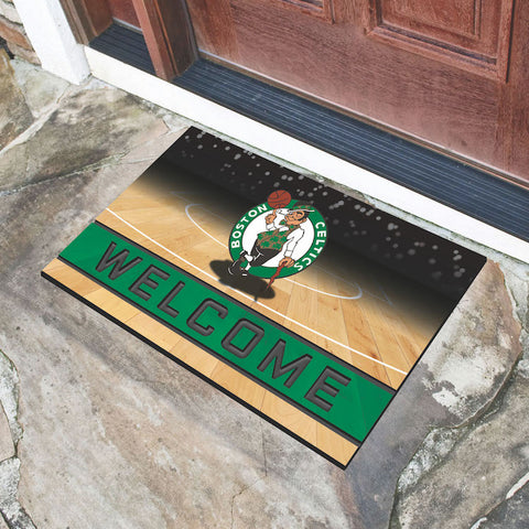 NBA Boston Celtics Recycled Rubber CRUMB Doormat - Bed, Bath, And My Team