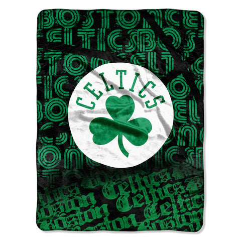 NBA Boston Celtics Micro Raschel Throw - Bed, Bath, And My Team