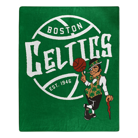 NBA Boston Celtics 50 x 60 Jersey Raschel Throw Blanket - Bed, Bath, And My Team