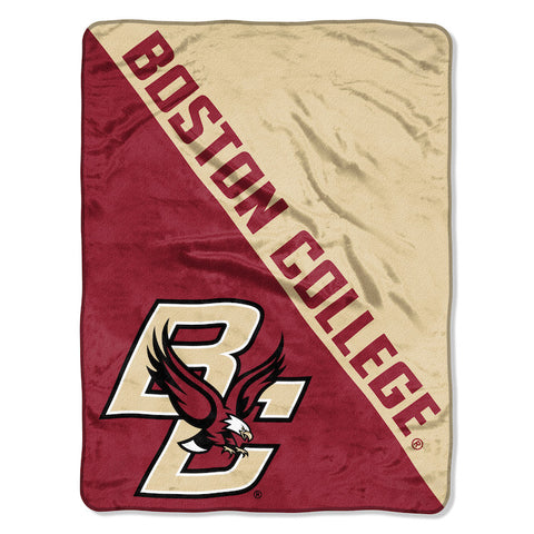 NCAA Boston College Eagles Micro Raschel Throw - Bed, Bath, And My Team
