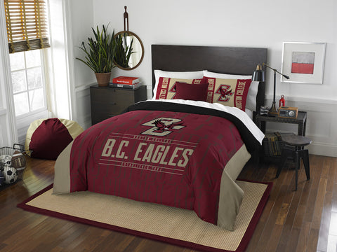 NCAA Boston College Eagles Queen/Full Comforter and Sham Set - Bed, Bath, And My Team