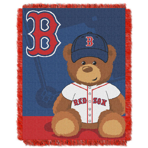 MLB Boston Red Sox Baby Blanket - Bed, Bath, And My Team