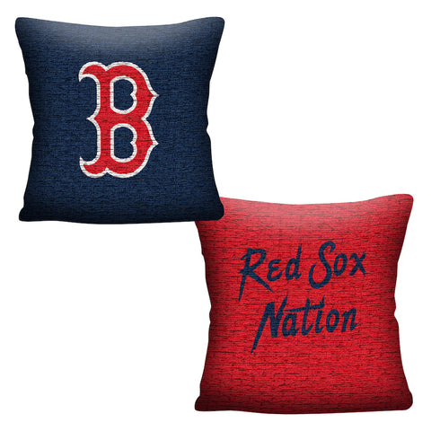 MLB Boston Red Sox INVERT Throw Pillow - Bed, Bath, And My Team